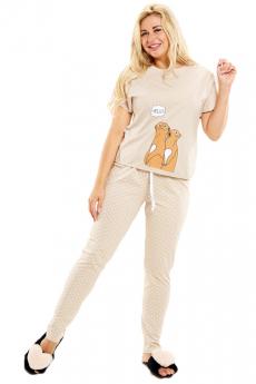 Пижама с сурикатами Трикотажница